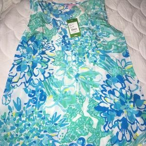 NWT Lilly Pulitzer Dahlia Top In A Pinch Small